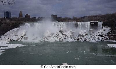 Niagara American Falls 2 Slo Mo 30P