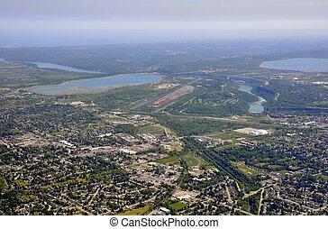 Niagara Falls aerial