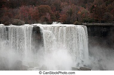 Niagara Falls Autumn - International Falls - Niagara Falls....