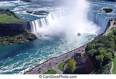 Niagara Falls: Horseshoe - Niagara Falls, famous tourist...