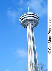 Niagara Falls Ontario and the Skylon Tower