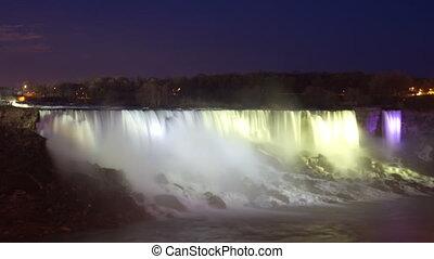 niagara falls, usa and canada