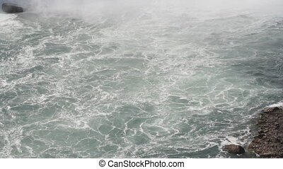 Niagara Falls white water. - Whitewater below Niagara Falls....