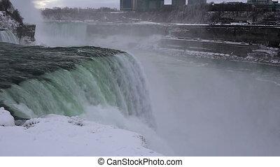 Niagara falls winter shot one