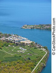 Niagara Forts aerial