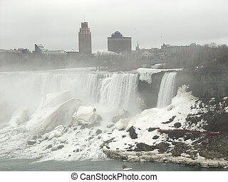 Niagara-in-the-fog