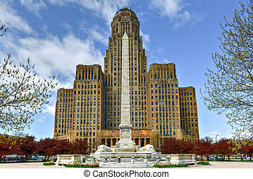 Niagara Square - Buffalo, New York - Niagara Square in...