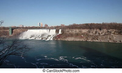 Niagara two Waterfalls