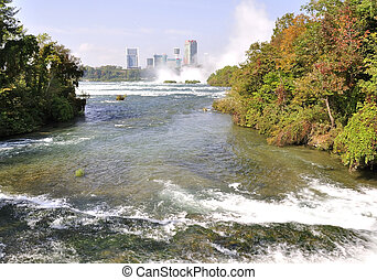 niagara, usa, river.