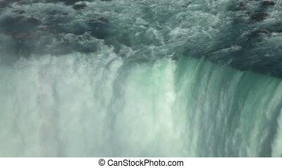 Niagara Waterfall closeup