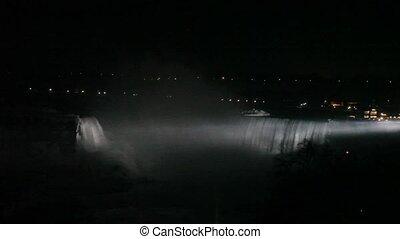 Niagra Falls at Night