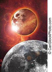 Nibiru Abstract Design - Nibiru - Planet X and Our Moon...