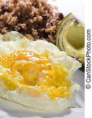 nicaraguan breakfast - typical breakfast nicaragua fried...