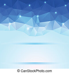 nice blue polygonal background