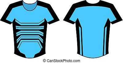nice blue shirt design - Creative design of nice blue shirt