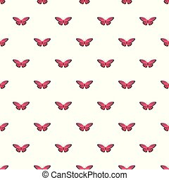 Nice butterfly pattern seamless