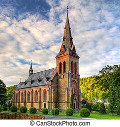 Nice Catholic Church in eastern Europe