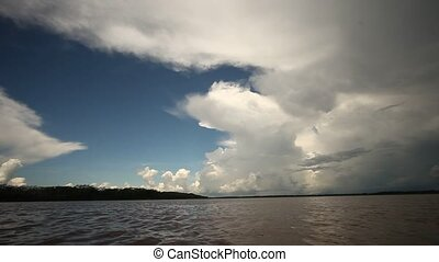 Nice Clouds At Amazon, Peru