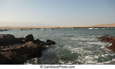 Nice Coastline With Ocean