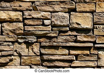 Nice Cut Stoen Wall