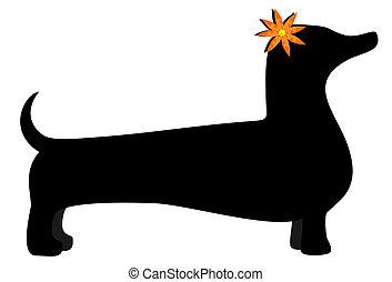 Nice dog - Illustration of nice vector dog