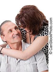nice elderly couple