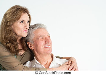 nice elderly couple