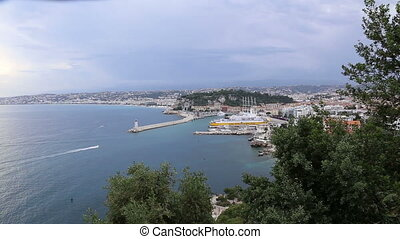 Nice France coast Cote d'Azur - DSLR Full HD progressive...