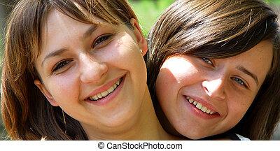 nice girls - attractive teens girls