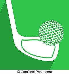 nice golf symbol