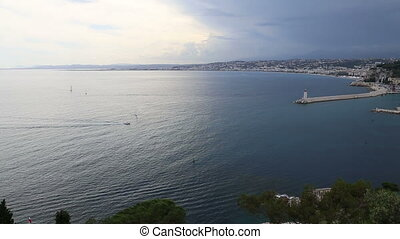Nice harbor France Cote d'Azur - DSLR Full HD progressive...