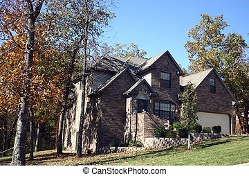 Nice house - A lovely home nestled in the woods of the Ozark...