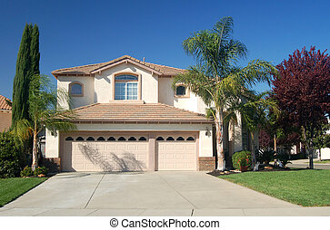 Nice house in California - Upper middle class house in...