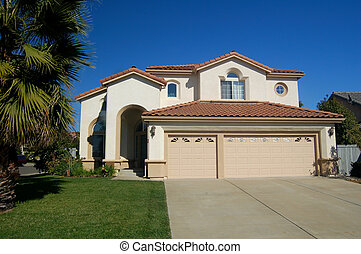 Nice house in California - Upper middle class house in ...