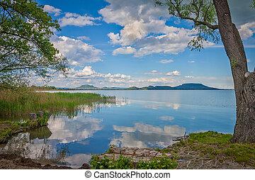 Nice hungarian landscape, lake Balaton