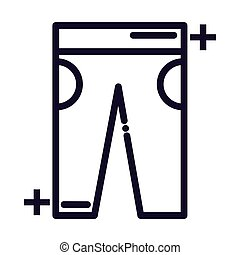 nice jeans line style icon