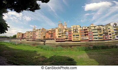 Nice landmark from a spanish city Girona