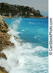 Nice landscape - landscape of Nice, France
