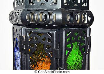 Nice Lantern close up isolated background