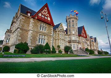 Nice Magdalena Palace in Santander, Spain