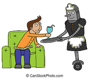 nice maid robot