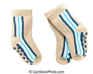 nice pair of child's  socks