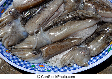 cuttlefish - nice plate of cuttlefish