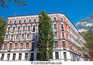 Nice restored building in Berlin
