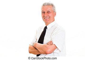 nice senior business man