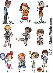 sports people