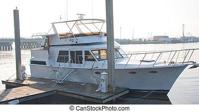 Nice Ship at Dock