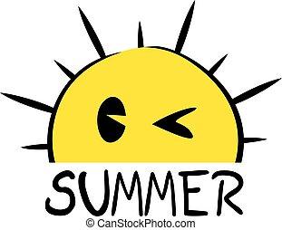 nice summer icon