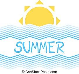 nice summer illustration