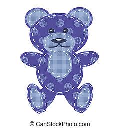 nice teddy bear scrapbook